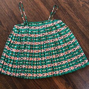 Every green spaghetti strap blouse